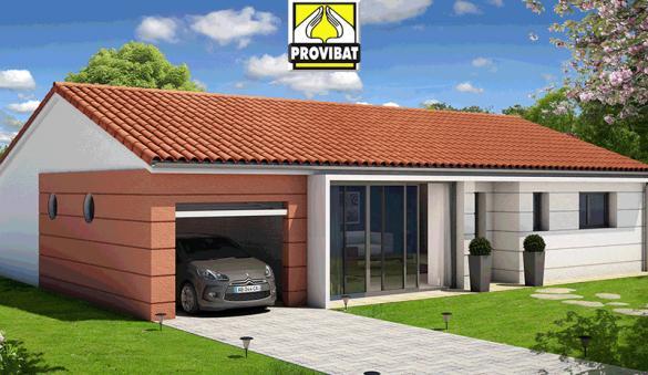Maison+Terrain à vendre .(70 m²)(POUSSAN) avec (PROVIBAT)