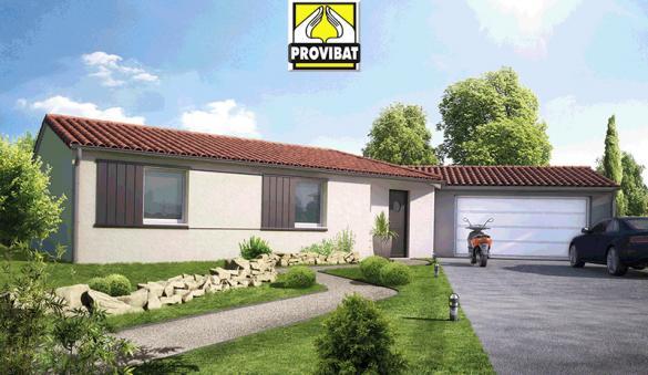 Maison+Terrain à vendre .(120 m²)(PLAISSAN) avec (PROVIBAT)