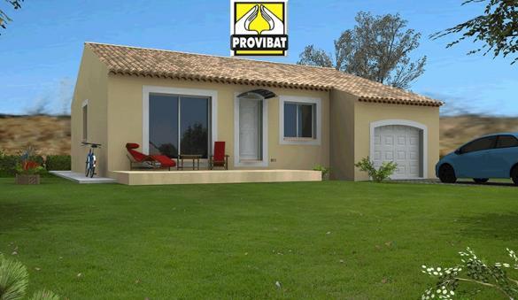 Maison+Terrain à vendre .(80 m²)(MONTARNAUD) avec (PROVIBAT)