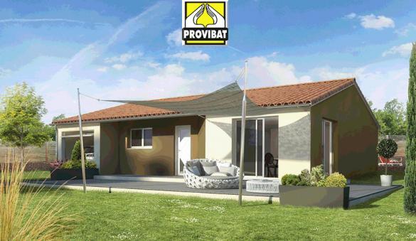 Maison+Terrain à vendre .(80 m²)(VILLETELLE) avec (PROVIBAT)
