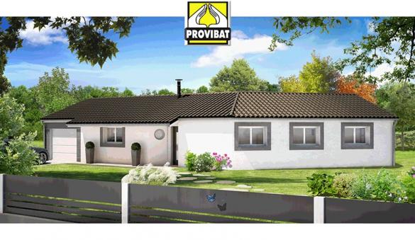 Maison+Terrain à vendre .(100 m²)(PLAISSAN) avec (PROVIBAT)