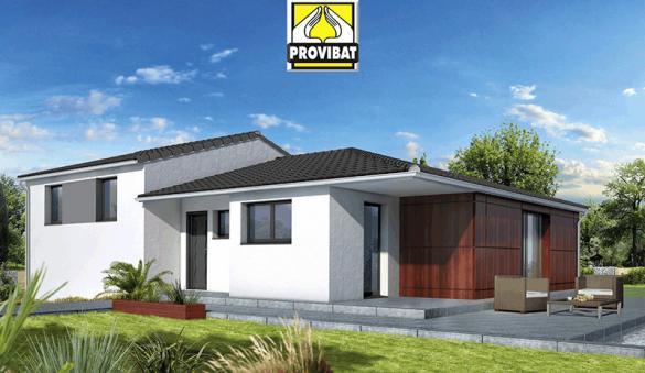 Maison+Terrain à vendre .(120 m²)(SAINT THIBERY) avec (PROVIBAT)
