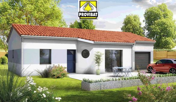 Maison+Terrain à vendre .(120 m²)(LE POUGET) avec (PROVIBAT)