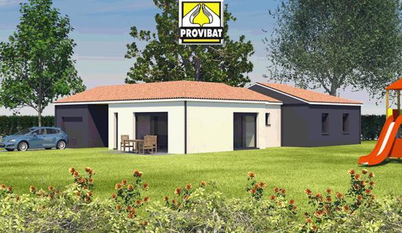 Maison+Terrain à vendre .(110 m²)(MONTBLANC) avec (PROVIBAT)