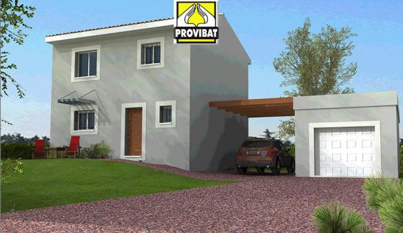 Maison+Terrain à vendre .(100 m²)(MONTBLANC) avec (PROVIBAT)