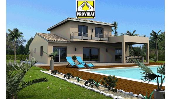 Maison+Terrain à vendre .(110 m²)(CALVISSON) avec (PROVIBAT)