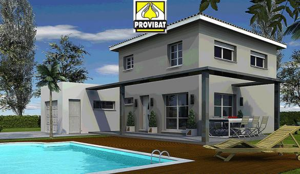 Maison+Terrain à vendre .(120 m²)(COMBAS) avec (PROVIBAT)