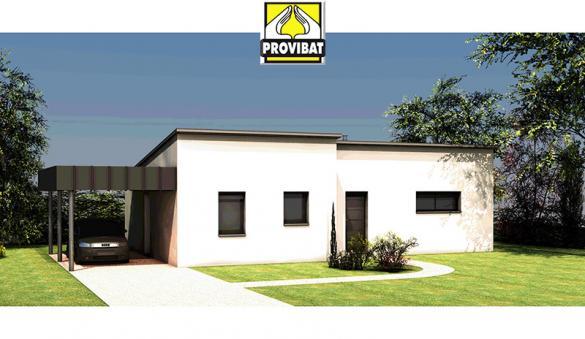 Maison+Terrain à vendre .(80 m²)(CRESPIAN) avec (PROVIBAT)