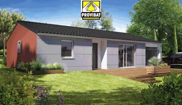 Maison+Terrain à vendre .(120 m²)(GAJAN) avec (PROVIBAT)
