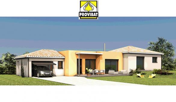 Maison+Terrain à vendre .(120 m²)(GALLARGUES LE MONTUEUX) avec (PROVIBAT)