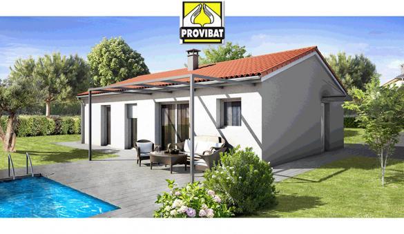 Maison+Terrain à vendre .(100 m²)(VIAS) avec (PROVIBAT)