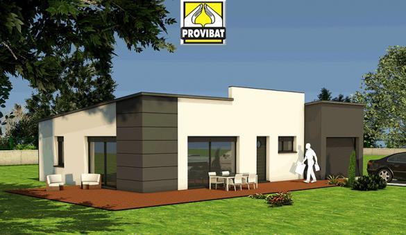 Maison+Terrain à vendre .(80 m²)(VIAS) avec (PROVIBAT)