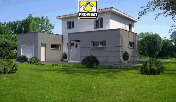 Maison+Terrain à vendre .(90 m²)(LA CALMETTE) avec (PROVIBAT)