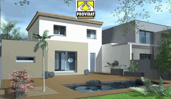 Maison+Terrain à vendre .(90 m²)(PINET) avec (PROVIBAT)