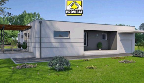 Maison+Terrain à vendre .(70 m²)(FLORENSAC) avec (PROVIBAT)