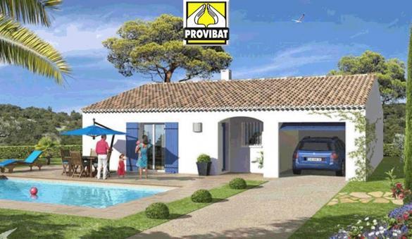 Maison+Terrain à vendre .(120 m²)(SUSSARGUES) avec (PROVIBAT)