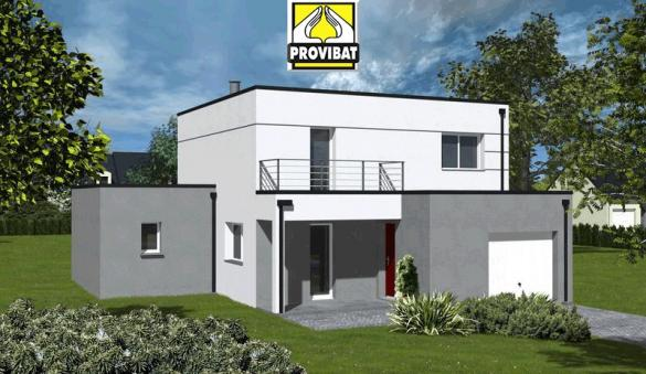 Maison+Terrain à vendre .(90 m²)(LE TRIADOU) avec (PROVIBAT)