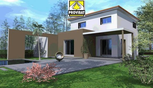 Maison+Terrain à vendre .(90 m²)(ARAMON) avec (PROVIBAT)