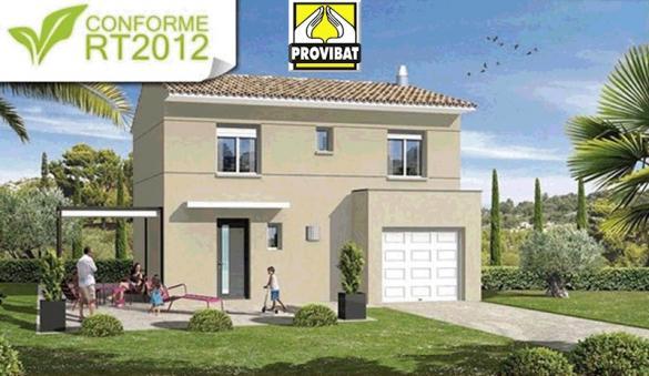 Maison+Terrain à vendre .(110 m²)(SAINT JEAN DE CORNIES) avec (PROVIBAT)