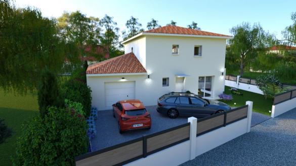 Maison à vendre .(100 m²)(VIENNE) avec (Pavillons Création 69)