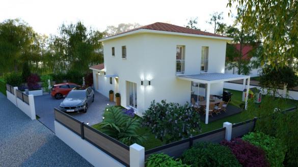 Maison à vendre .(100 m²)(MEXIMIEUX) avec (Pavillons Création 69)
