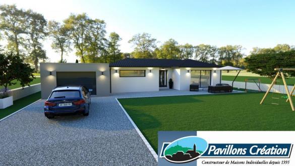 Maison à vendre .(120 m²)(MIONS) avec (Pavillons Création 69)