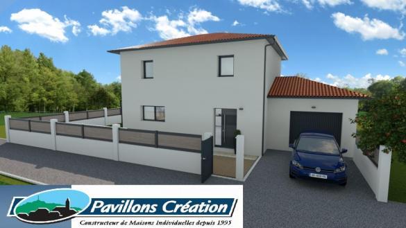 Maison à vendre .(105 m²)(PONT DE CHERUY) avec (Pavillons Création 69)