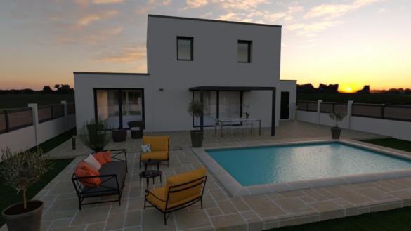Maison à vendre .(105 m²)(BRON) avec (Pavillons Création 69)
