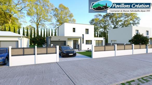 Maison à vendre .(120 m²)(SAINT BONNET DE MURE) avec (Pavillons Création 69)