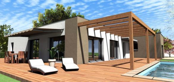 Maison à vendre .(120 m²)(BRON) avec (Pavillons Création 69)