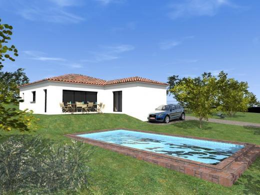 Maison à vendre .(90 m²)(TRAMOLE) avec (Pavillons Création 69)