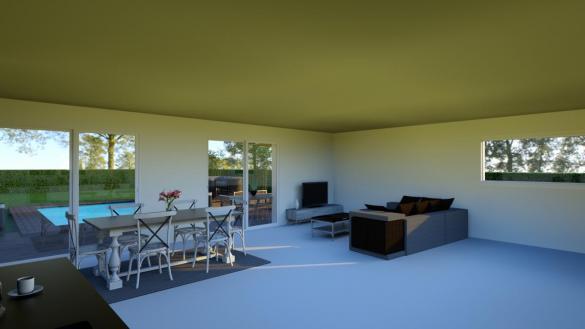 Maison à vendre .(90 m²)(SOUCIEU EN JARREST) avec (Pavillons Création 69)
