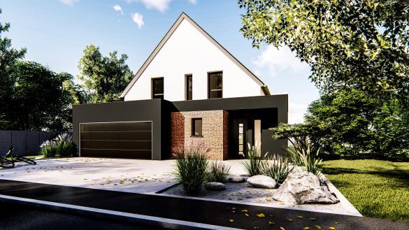 Maison+Terrain à vendre .(122 m²)(RUSTENHART) avec (LES MAISONS D'AUGUSTE)