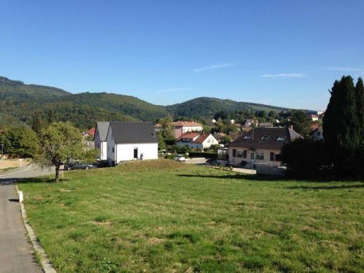 Terrain à vendre .(1148 m²)(MASEVAUX) avec (LES MAISONS D'AUGUSTE)