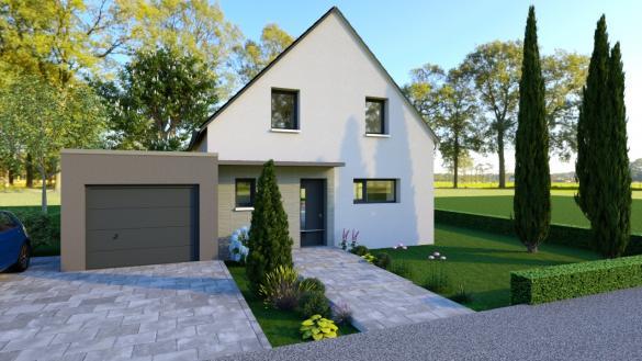 Maison+Terrain à vendre .(104 m²)(HIRTZBACH) avec (LES MAISONS D'AUGUSTE)