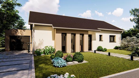 Maison+Terrain à vendre .(95 m²)(MERXHEIM) avec (LES MAISONS D'AUGUSTE)