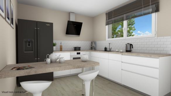 Maison+Terrain à vendre .(116 m²)(ZILLISHEIM) avec (LES MAISONS D'AUGUSTE)