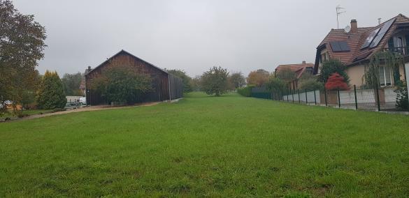 Terrain à vendre .(1195 m²)(LUTTER) avec (LES MAISONS D'AUGUSTE)