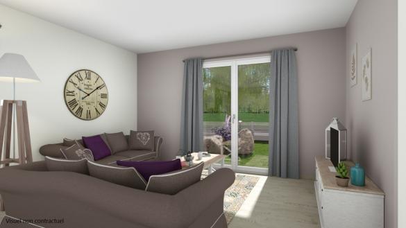 Maison+Terrain à vendre .(116 m²)(BALTZENHEIM) avec (LES MAISONS D'AUGUSTE)