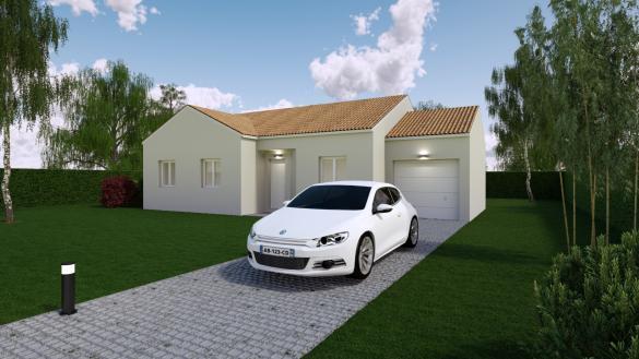 Maison+Terrain à vendre .(86 m²)(DERVAL) avec (Mon Courtier Maison)