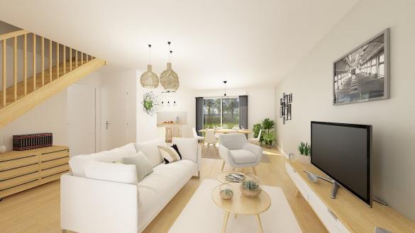 Maison+Terrain à vendre .(106 m²)(LA FERTE SOUS JOUARRE) avec (MAISONS PHENIX)