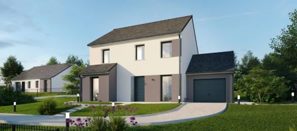 Maison+Terrain à vendre .(137 m²)(TORCY) avec (MAISONS PHENIX)