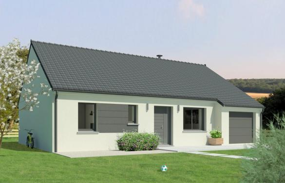 Maison+Terrain à vendre .(100 m²)(ROUPY) avec (Maison Familiale Saint Quentin)