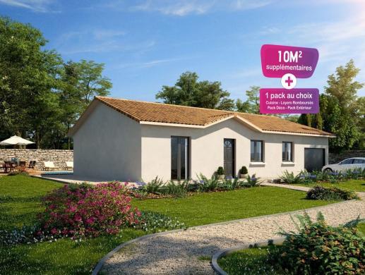 Maison+Terrain à vendre .(62 m²)(FRANS) avec (MAISONS PUNCH SIEGE SOCIAL)