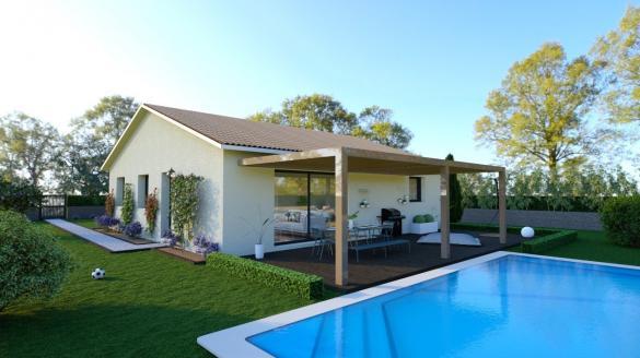 Maison+Terrain à vendre .(84 m²)(AMBERIEUX EN DOMBES) avec (MAISONS PUNCH SIEGE SOCIAL)