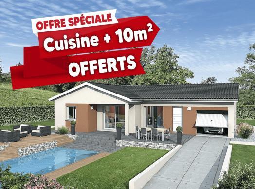 Maison+Terrain à vendre .(83 m²)(MESSIMY SUR SAONE) avec (MAISONS PUNCH SIEGE SOCIAL)