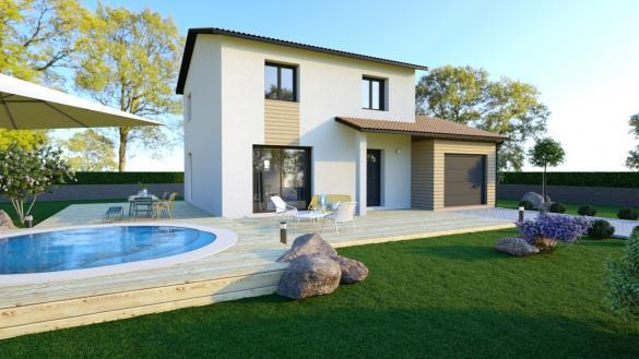 Maison+Terrain à vendre .(94 m²)(MESSIMY SUR SAONE) avec (MAISONS PUNCH SIEGE SOCIAL)