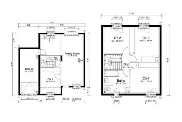 Maison+Terrain à vendre .(91 m²)(MESSIMY SUR SAONE) avec (MAISONS PUNCH SIEGE SOCIAL)