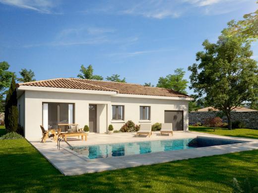 Maison+Terrain à vendre .(85 m²)(MONSOLS) avec (MAISONS PUNCH)