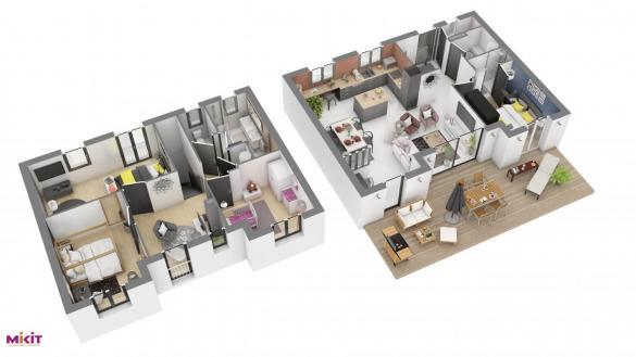 Maison à vendre .(115 m²)(SPECHBACH LE BAS) avec (MIKIT)